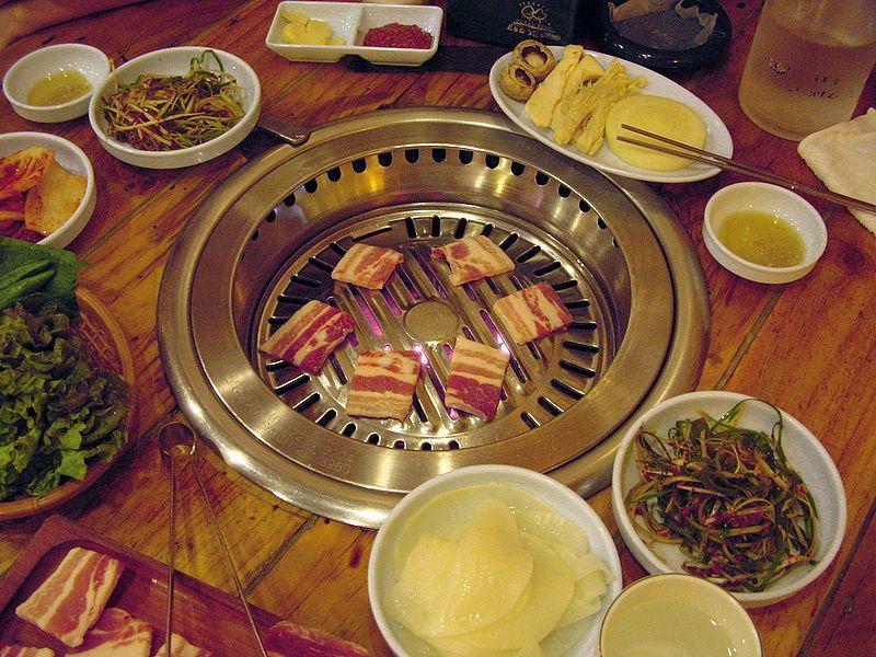 Samgyupsal In Houston Tx Iran Food Philippines Food Philippines Recipes
