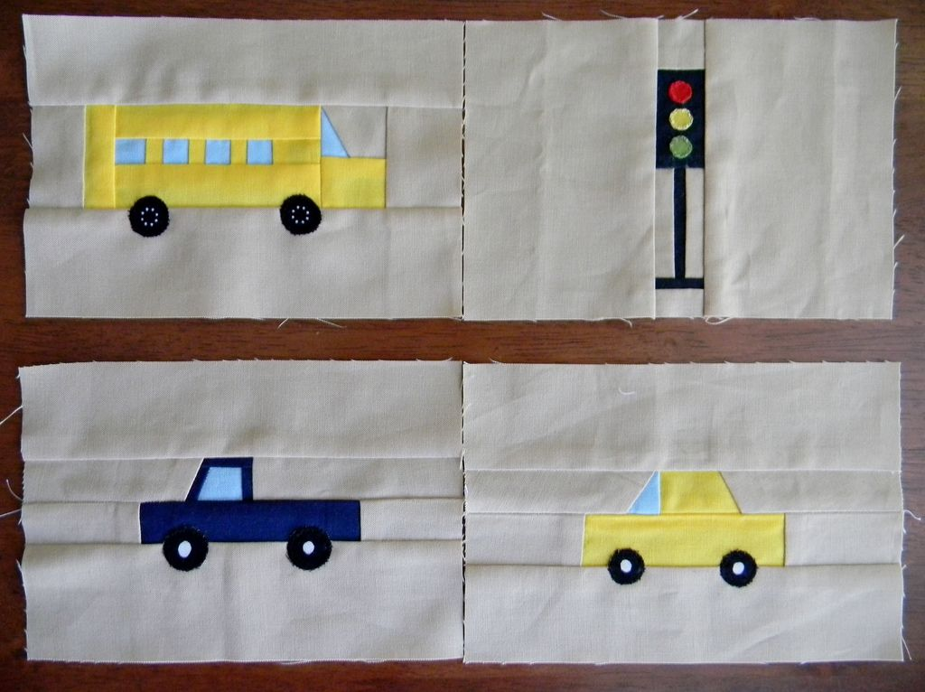 from the Busy City Quilt pattern