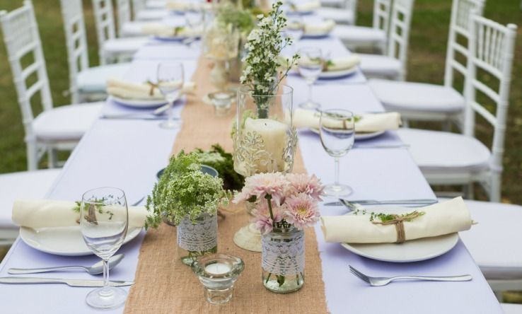The Do S And Don Ts Of Centerpieces Pointers For Planners Outdoor Wedding Decorations Outdoor Wedding Tables Party Table Centerpieces