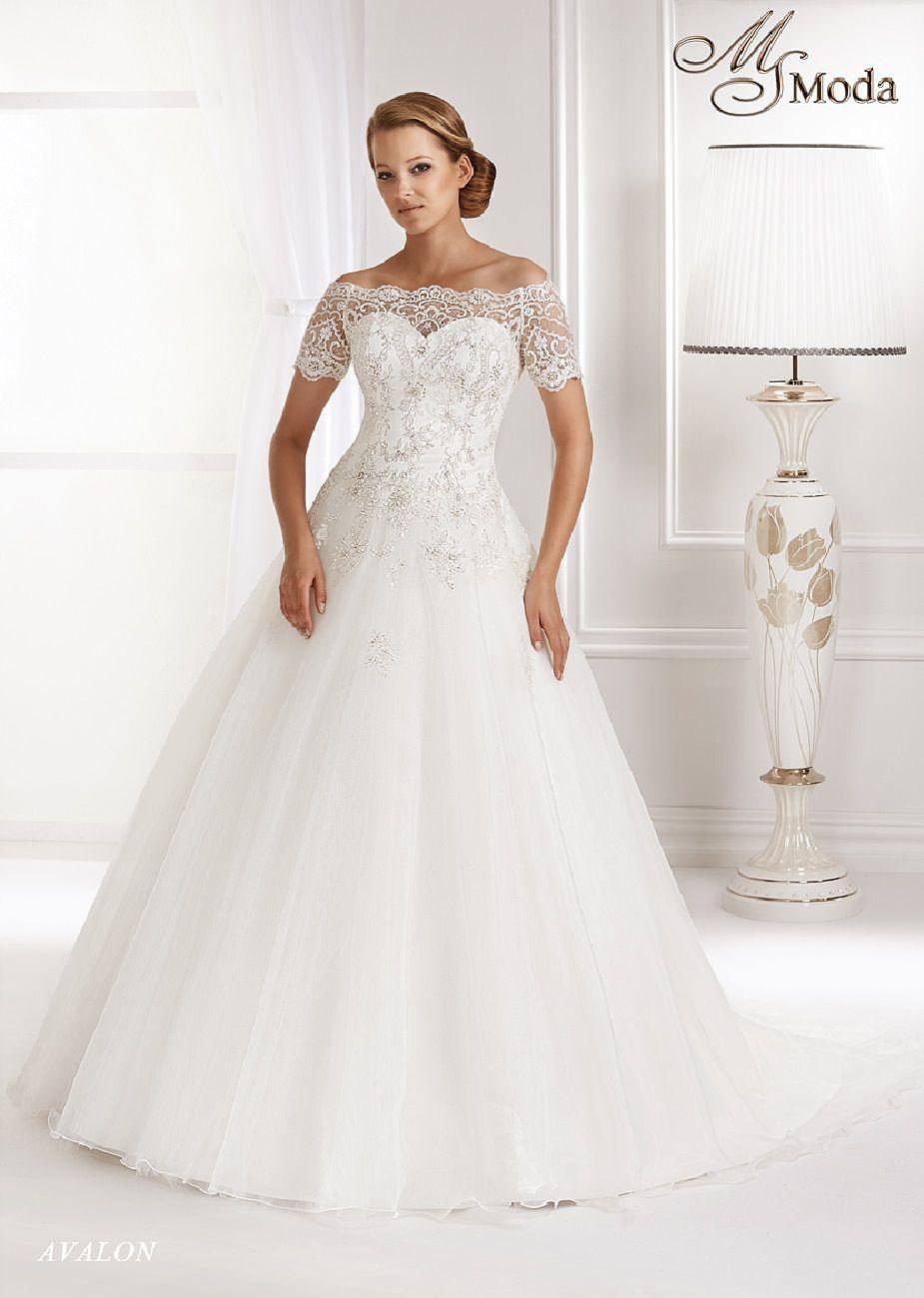Suknia ślubna Ms Moda Gostynin Zamkowa 14a Rzeczy Do Noszenia