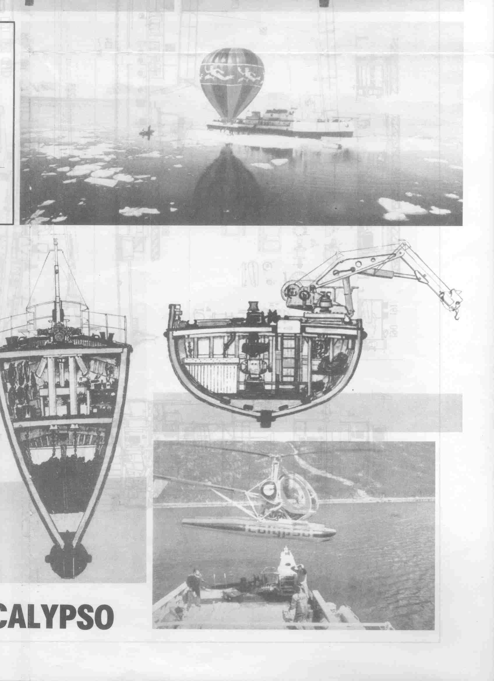 Calypso blueprint 7 cousteau pinterest calypso blueprint 7 malvernweather Gallery