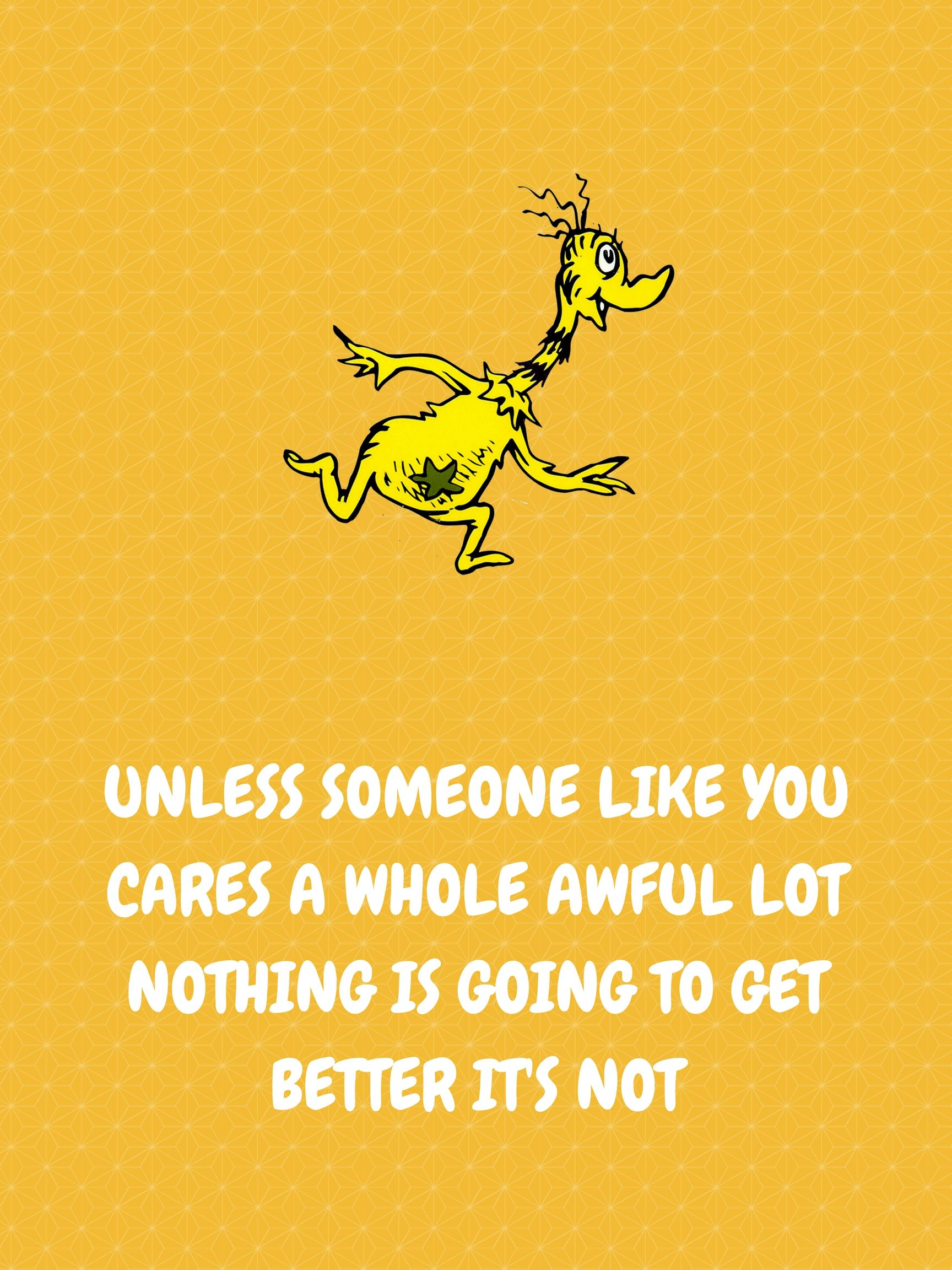 Dr seuss themed yw value poster someone like you new