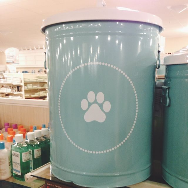 Decorative Dog Food Container