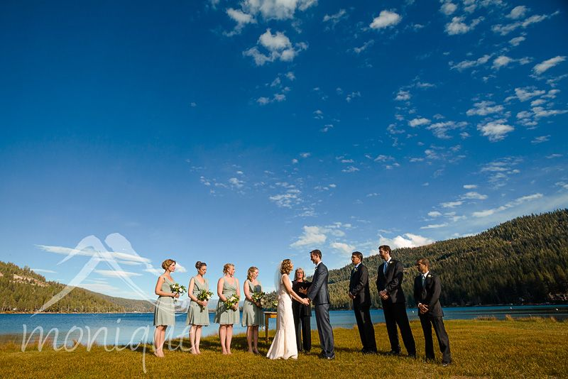 Cedar House Sport Hotel wedding in Truckee for Becky and