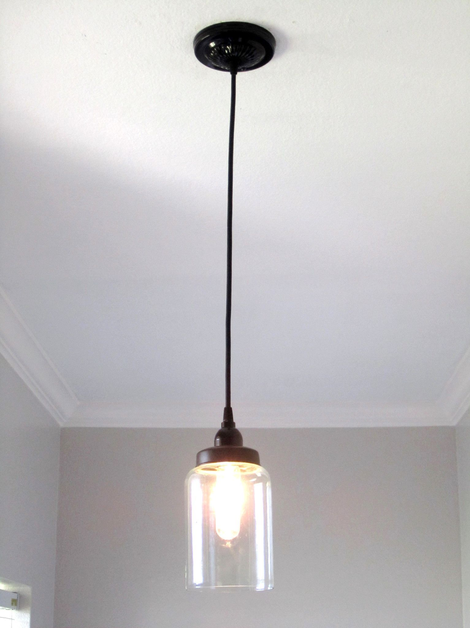 Glass cylinder pendant light lmparas de pared glass cylinder pendant light aloadofball Choice Image