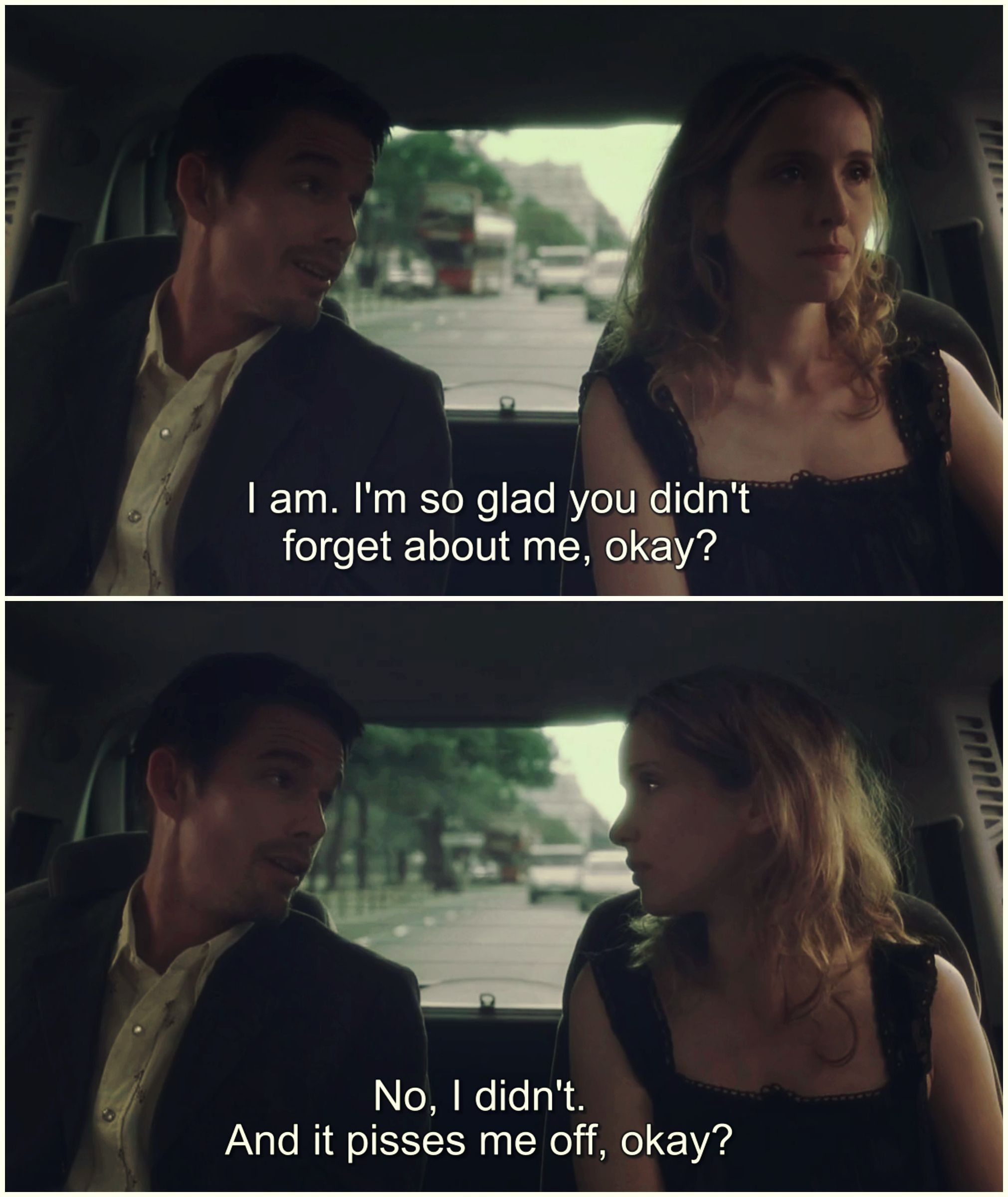 Before Sunset Ethan Hawke Julie Delpy With Images Favorite