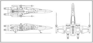 Image result for x wing blueprint