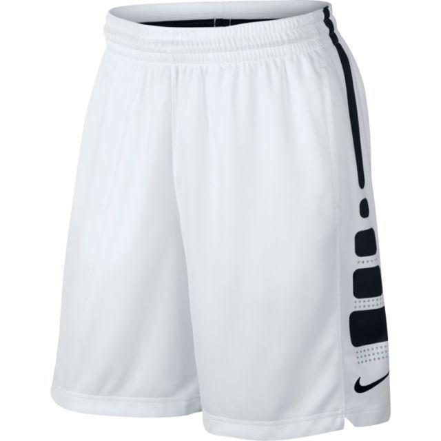 Men S Nike Elite Dri Fit Basketball Shorts 718378 100 Black White Xl 2xl Blackwhite Shorts Basketball Clothes Nike Basketball Shorts Nike Outfits