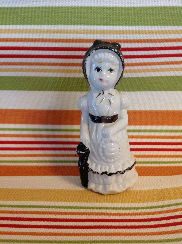 Vintage Ceramic 1950's Little Girl Figurine, Vintage Collectible Figurines, Girl Figurines, Vintage Ceramic Girls, Porcelain Figurines by LakesideVintageShop on Etsy