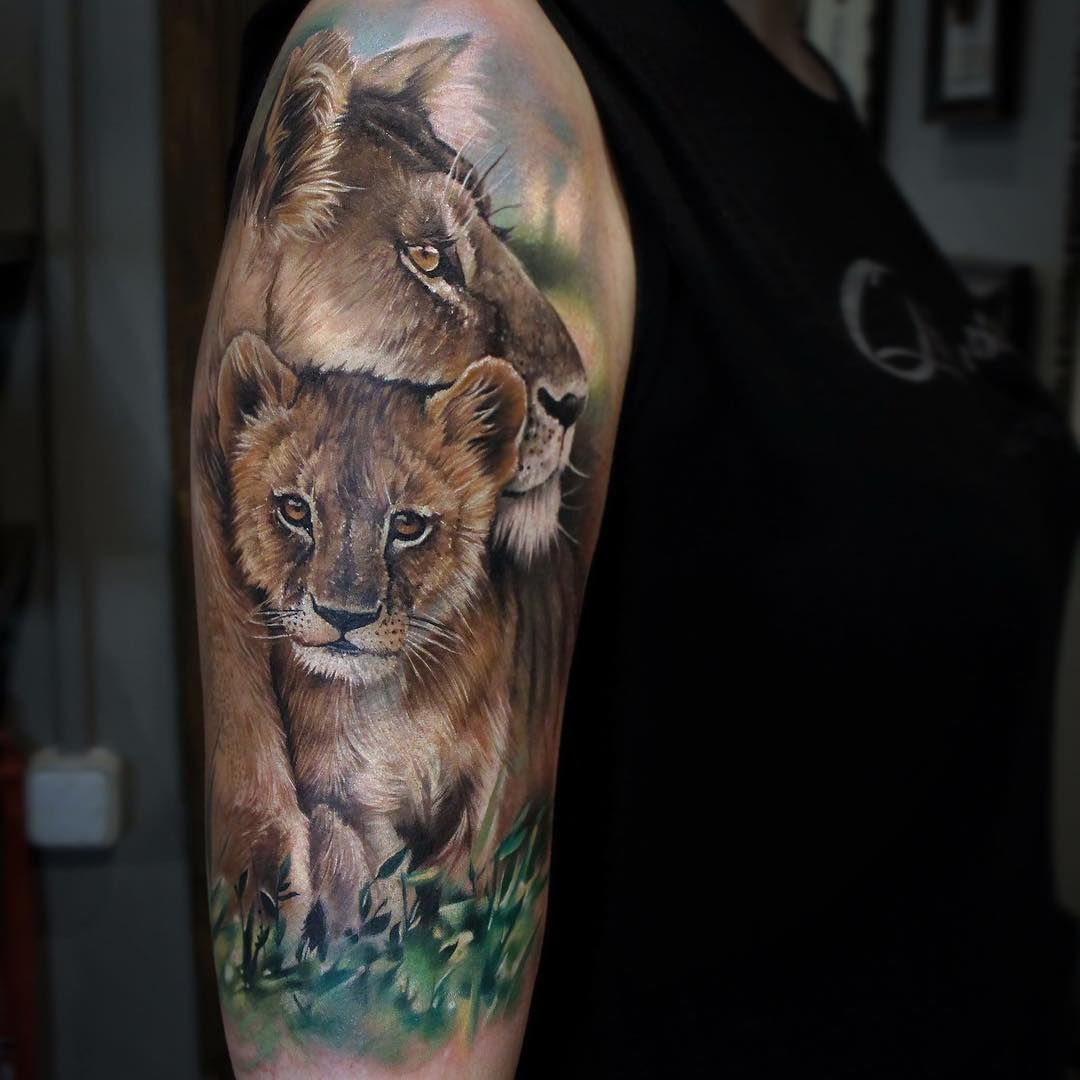78 Lion Tattoo Ideas Which You Like September 2019