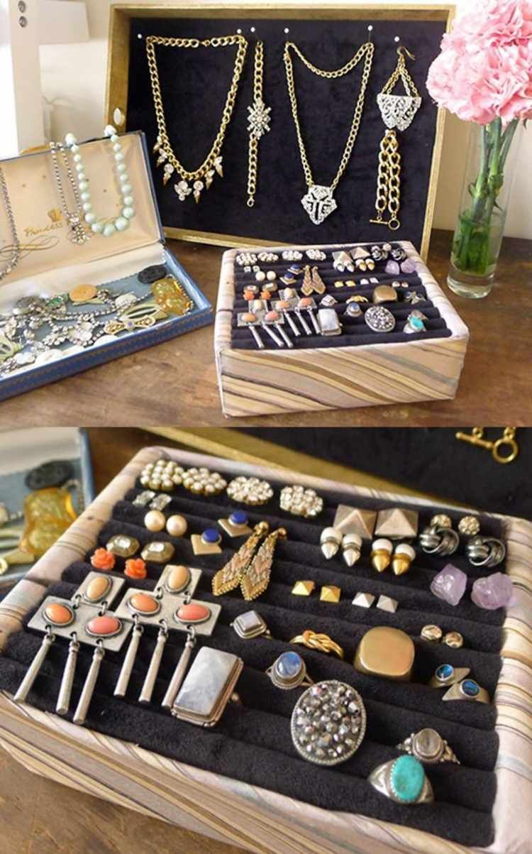 25 awesome diy jewelry box plans for mens and girls