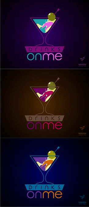 ****Logo for Drinks on Me Dating Site and Future App******* by Emodist