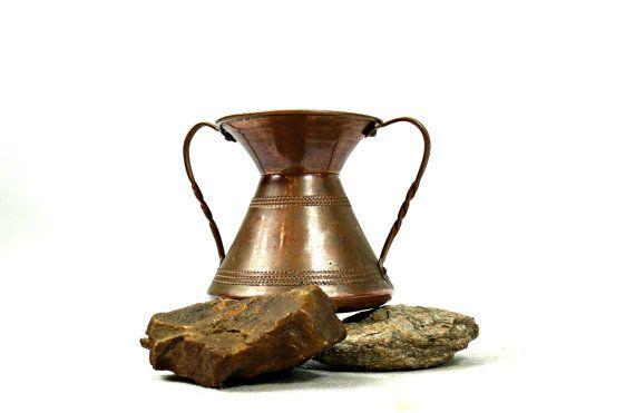 Copper vase  Small copper vase  Vintage by VintageLittleGems