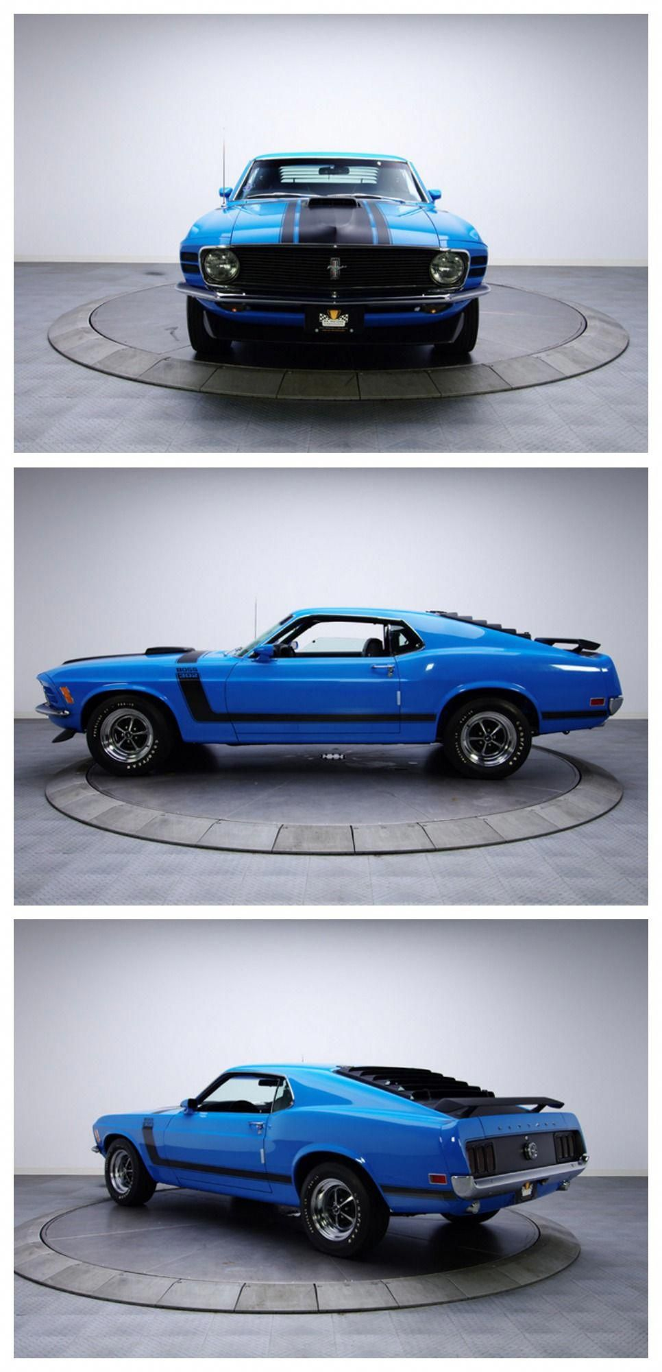 A RARE thoroughbred Ford Mustang Boss 302 MusclecarMonday