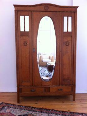 Wohnzimmer Ebay Kleinanzeigen Art Deco Flurschrank Eiche