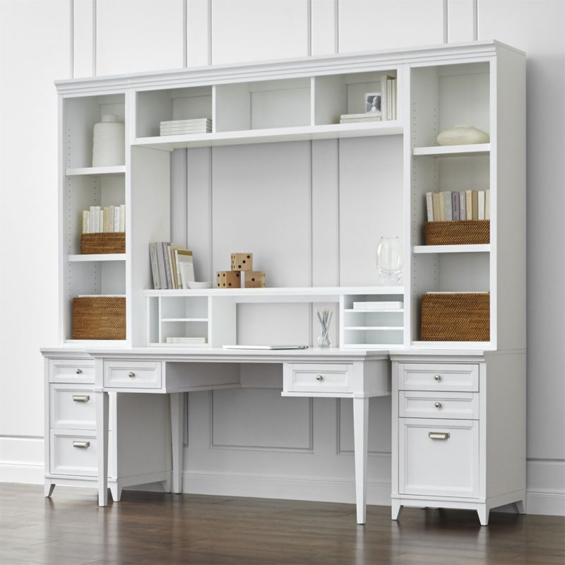 Exceptional Shop Harrison 7 Piece White Modular Home Office. Designed By Blake Tovin Of  Tovin Design, These Pieces Combine Into A High Functioning Office Space  With A ...