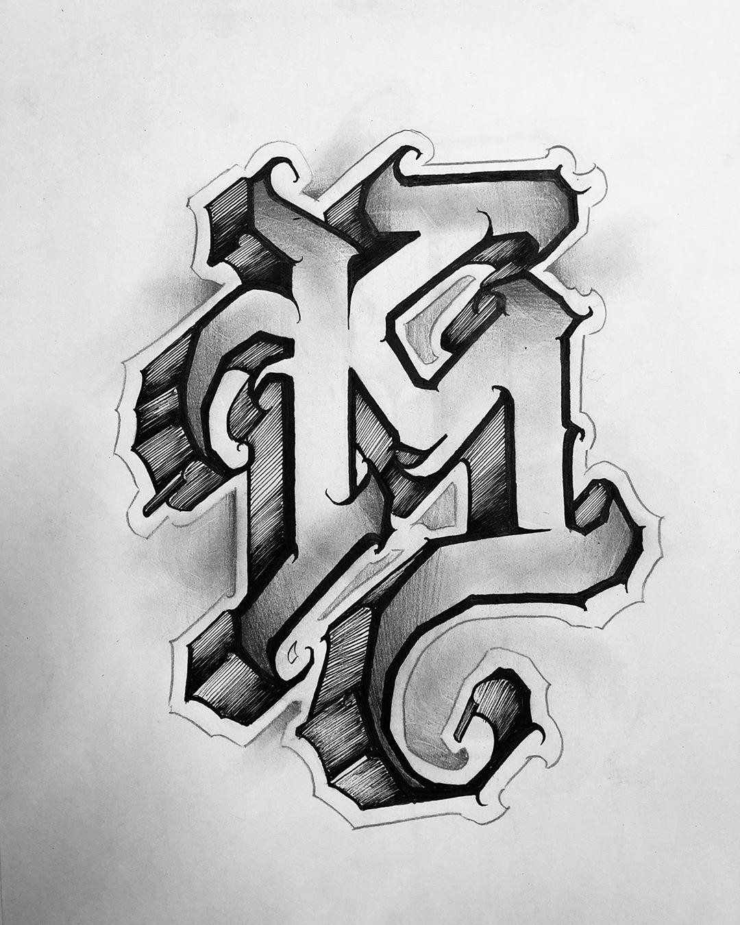 """𝕵𝖔𝖘𝖊 𝖗𝖆𝖒𝖎𝖗𝖊𝖟 on Instagram """"Letra """" k """" 🔥 k.letterss"""