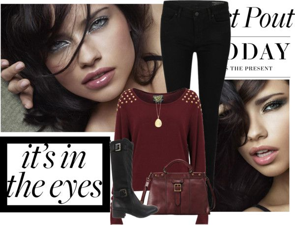 """""""it's in the eyes"""" by elmtree87 ❤ liked on Polyvore"""