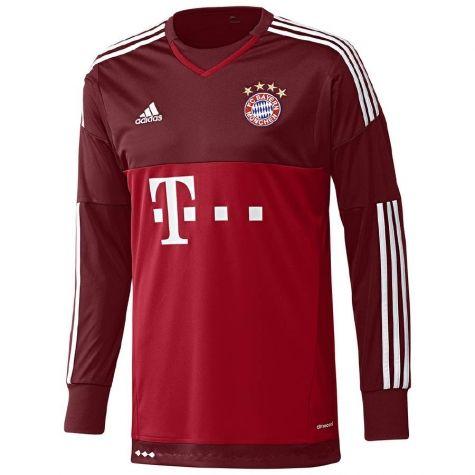 Bayern Munich 2015/2016 Away Goalkeeper Shirt - Available at ...