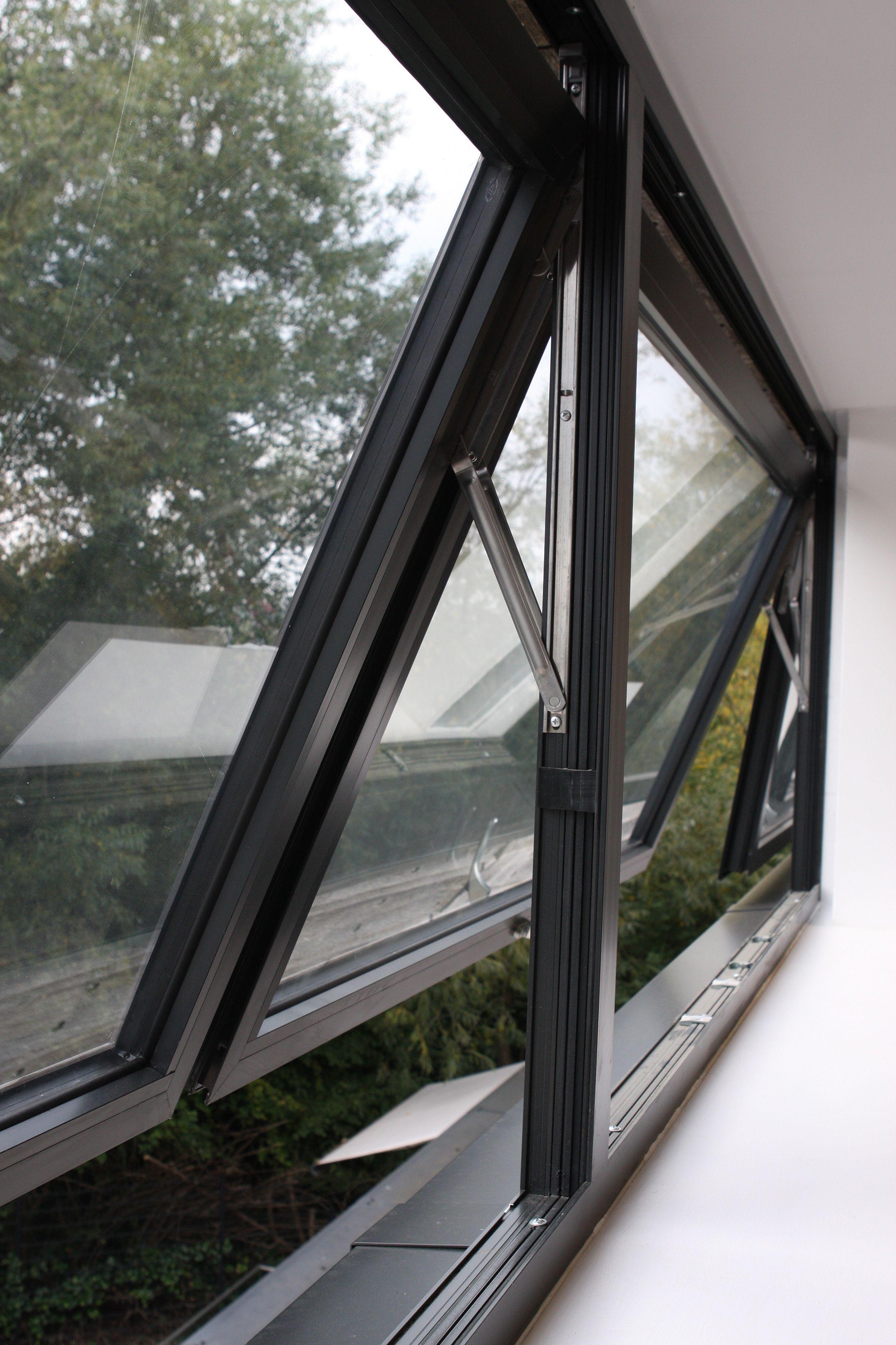 Contemporary Aluminium Casement Windows By Hedgehog