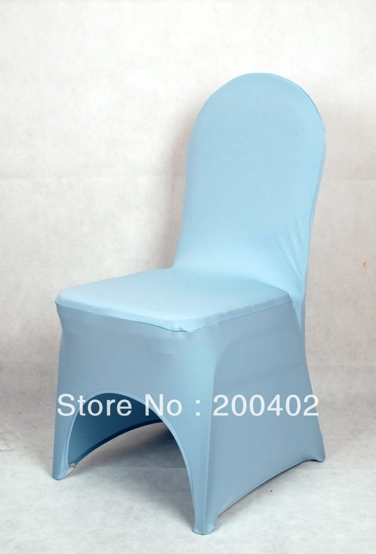 Teal Spandex Chair Covers