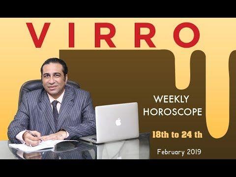 virgo weekly horoscope february