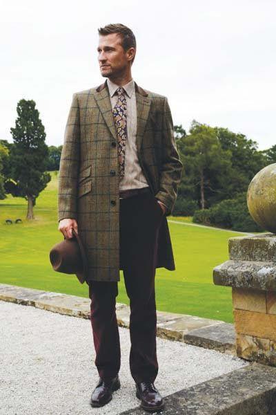 Gurteen Cheltenham Tweed Covert Coat - Coats - Sale - Brocklehursts | Clothes, Country outfits, Coat sale