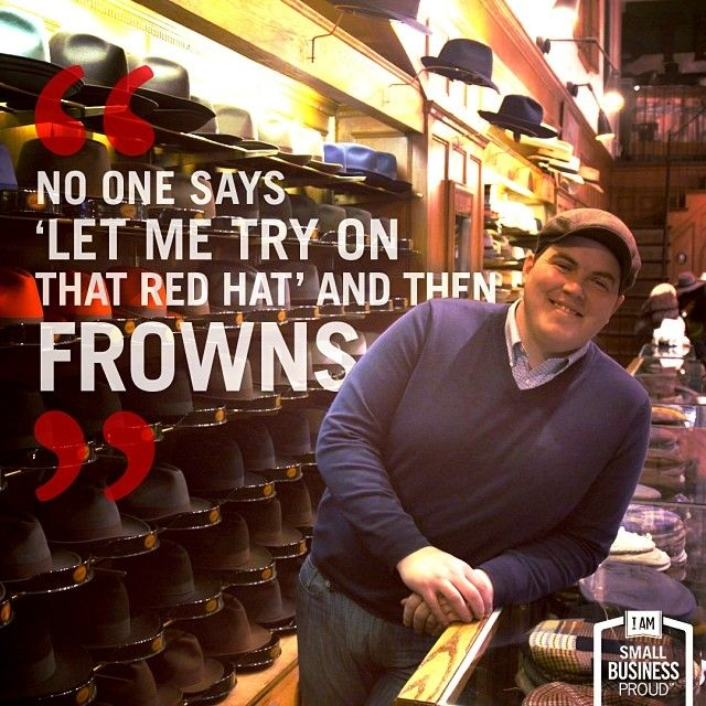 9cea55668f3cd Hats off to  familybusiness JJ Hat Center for still going strong after 104  years in  business.  NYC  SmallBizProud Read more small business stories  on  ...