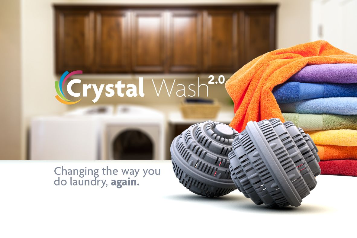 The Future Of Laundry Crystal Wash Is A Greener Way To Clean