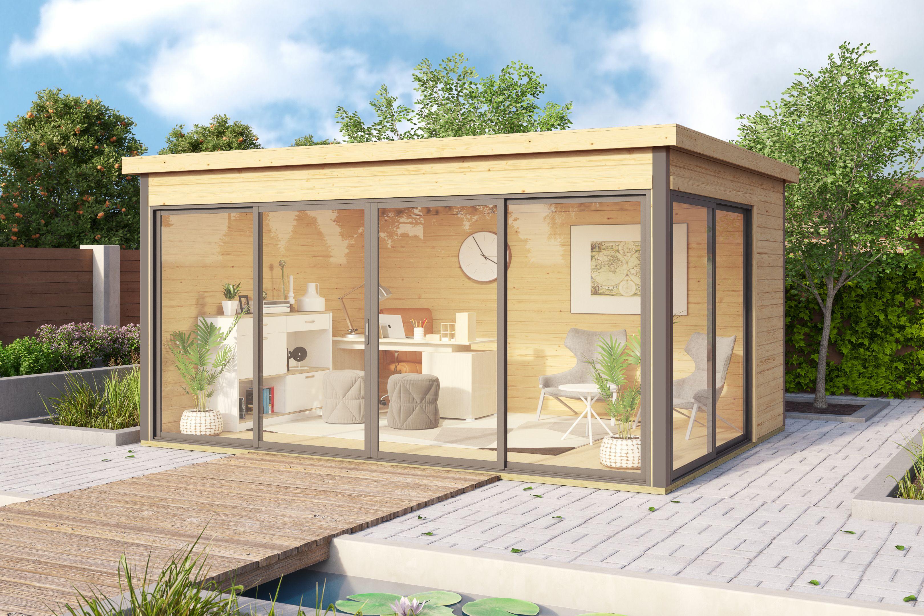 Bureau De Jardin Argos 4 12m2 Bureau De Jardin Chalet De Jardin Maisonnette En Bois