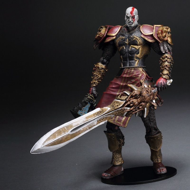 New Hot 7 God Of War 2 Ii Kratos In Ares Armor W Blades Pvc