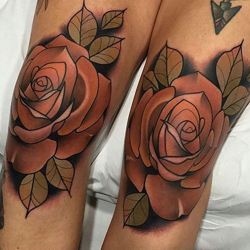 Photo of Popular Lower Thigh Tattoos For Women – Best Thigh Tattoos For Women: Cute Leg T…