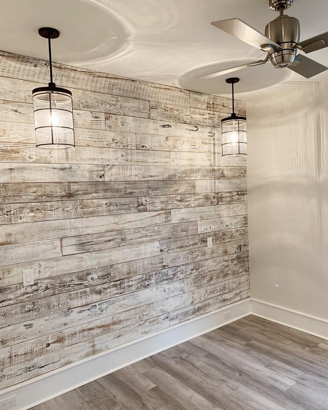 Two Different Reclaimed Wood Wall Designs. Which Is Your