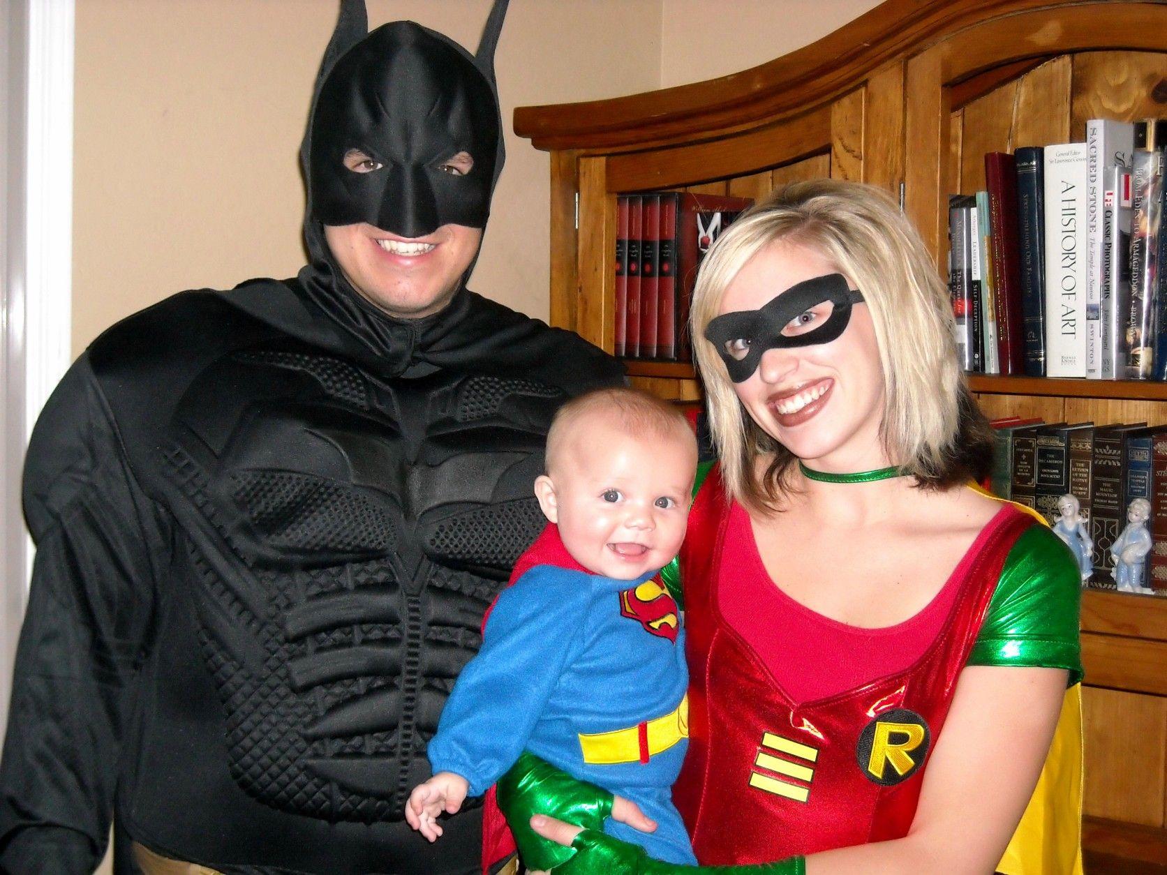 Hoop Hangout - Halloween - Family of Three Costumes - Super Hero ...