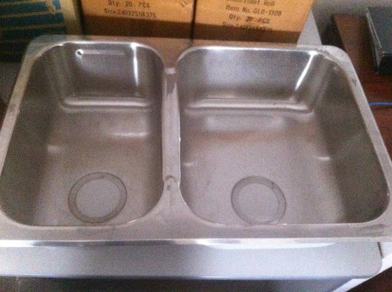Stainless Steel Double Kitchen Sink West Perth Perth City Image
