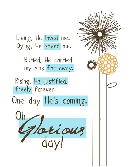 Easter Gift | Truth! | Quotes, Living he loved me, Casting Crowns