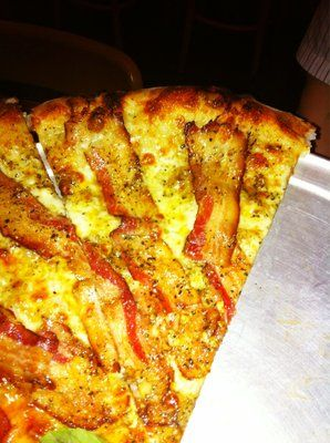 Whole Strips Of Bacon On Their Bianca Pizza Sooooo Good Yelp Delicious Food Pizza