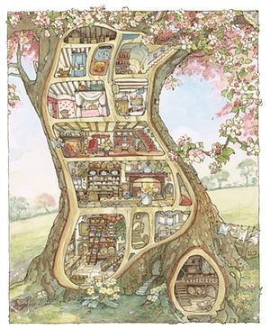 Meet the characters of Brambly Hedge and their real life cousins – in pictures