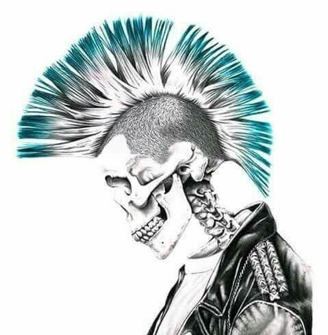 Pin de rafael en oi | Pinterest | Punk, Calaveras y Estilo Rock
