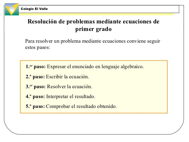 Resultado de imagen de normas para resolver ecuaciones de for Ecuaciones de cuarto grado