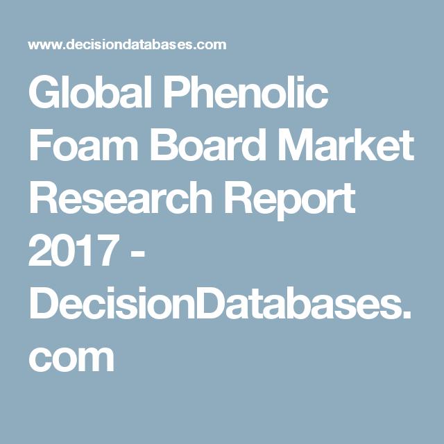 Global Phenolic Foam Board Market Research Report