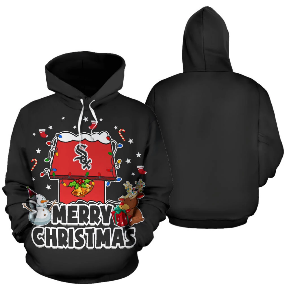 Funny Merry Christmas Chicago White Sox Hoodie 2019