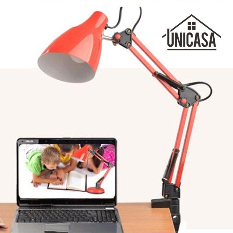 Adjustable clip desk lamps bedside desk top table lamp bedroom red adjustable clip desk lamps bedside desk top table lamp bedroom red table lights office light libraly aloadofball Gallery