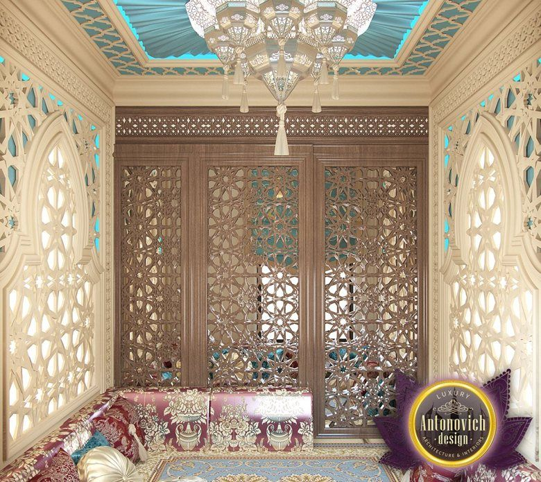 Arabic style in the interior of Luxury