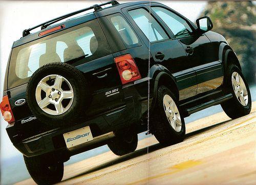 Ford Ecosport 2008 Carros Meninas