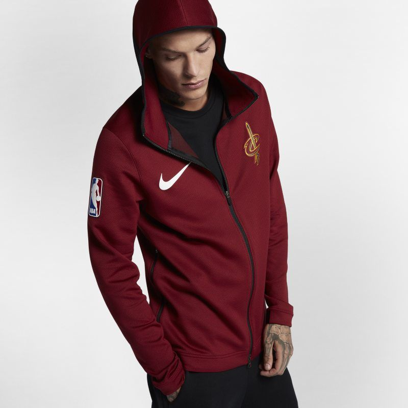 Brand New With Tags Nike NBA Cleveland Cavaliers Zip Jacket Maroon