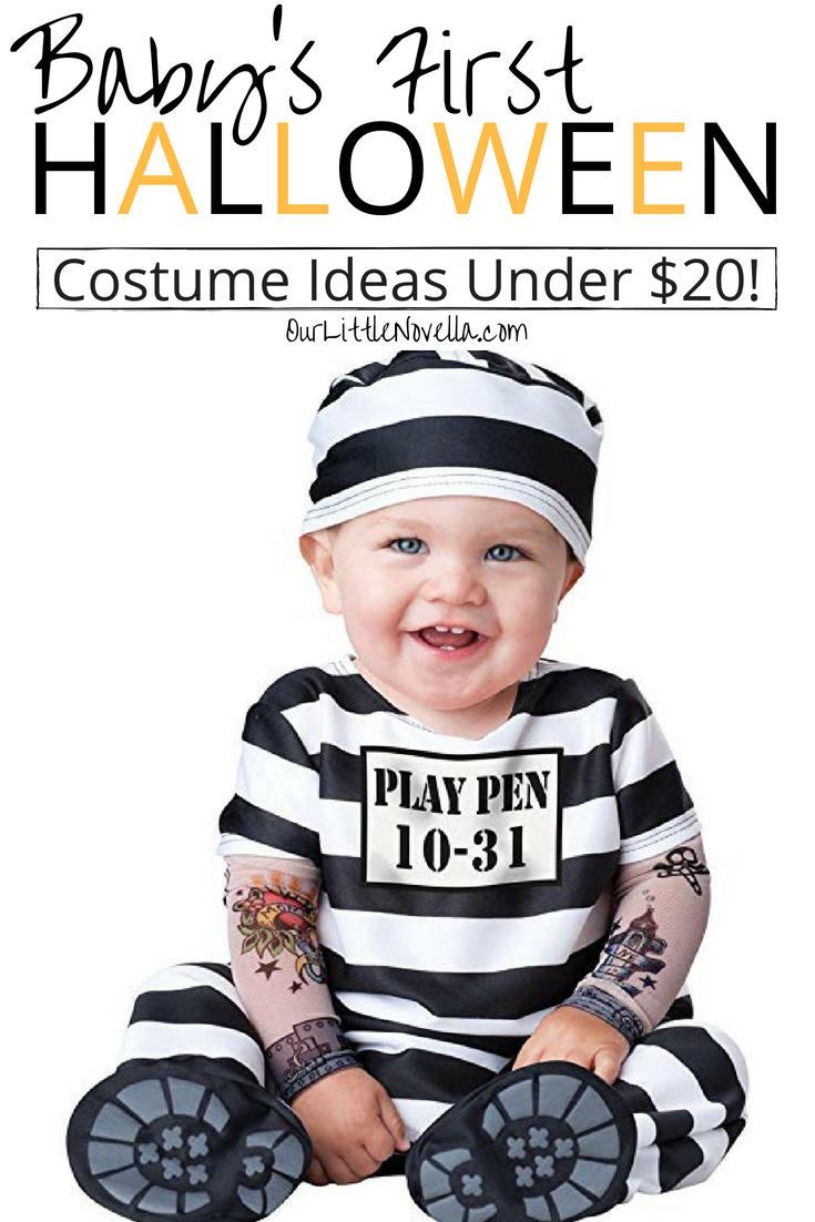 20 halloween costumes for babies under $20 | all things baby