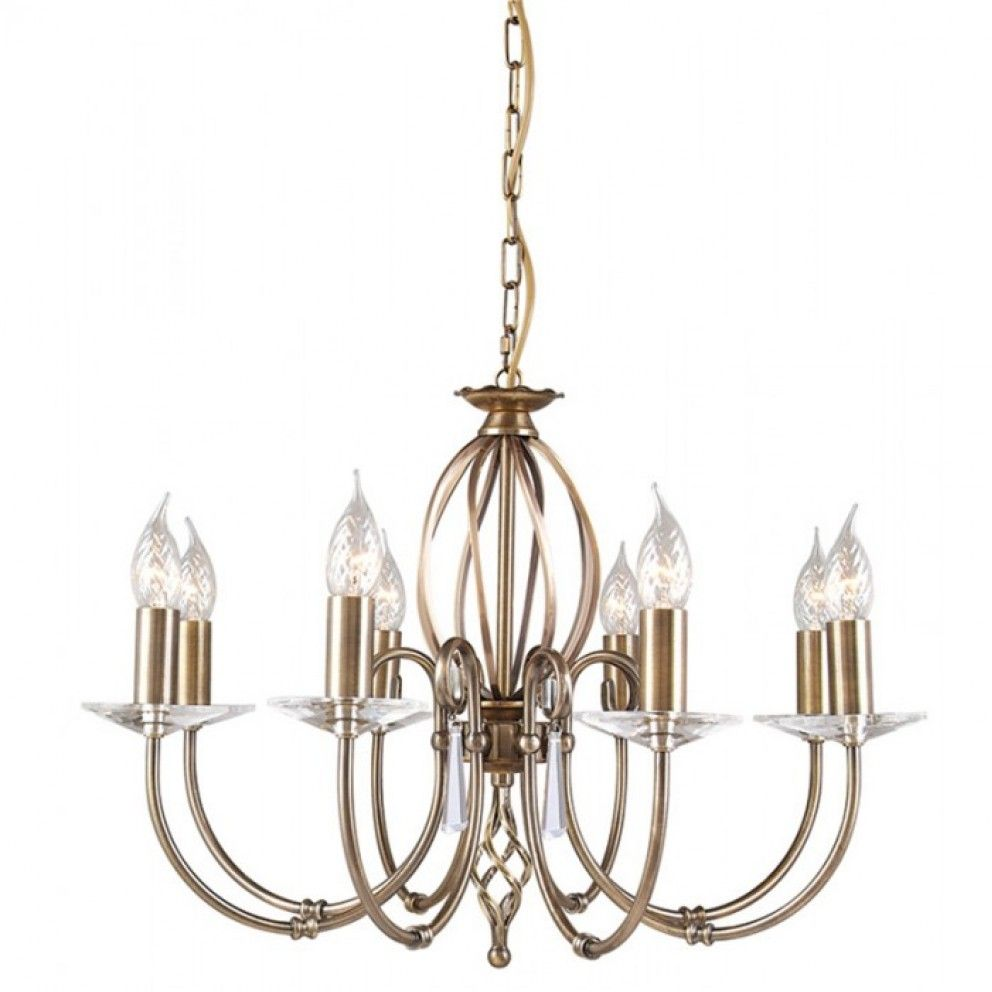 Elstead Lighting Aegean Eight Light Chandelier from £367.20 with FREE delivery!