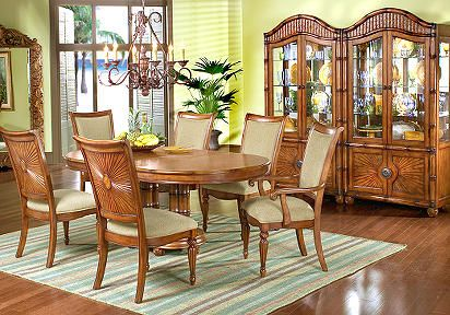 Cindy Crawford Home Collection | Cindy Crawford Home Coconut Grove Formal 5  Pc Diningroom .