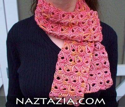 Crochet broomstick lace scarf crochet-crochet | Crocheting ...